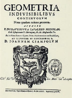 La nascita dell'analisi infinitesimale - 1635